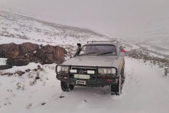 Lesotho 4 x 4 Snow