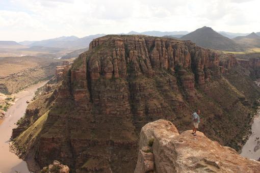 Lesotho Orange River Gorge